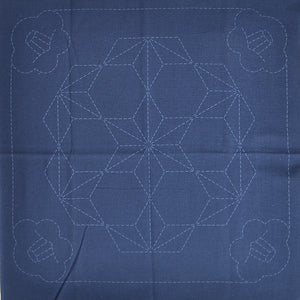 pre-printed sashiko fabric kit