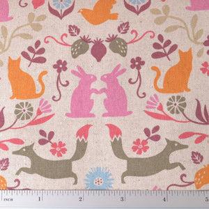Scandinavian Cotton Sewing Fabric