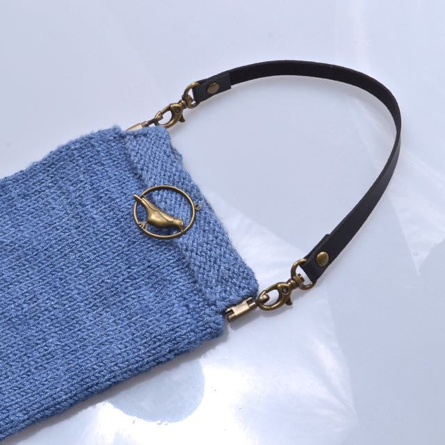 leather purse strap