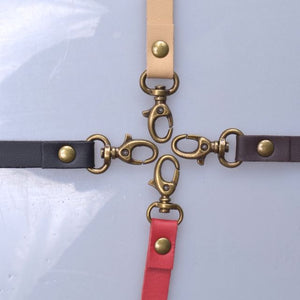 wrist swivel clip on bag straps
