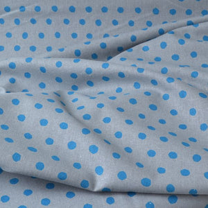 "Echino ""dot"" Medium Light 45%C/55%L fabric"