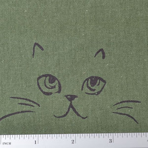 Cotton sewing fabric Cats
