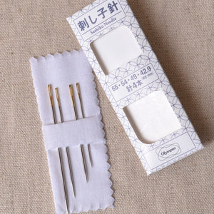 Olympus needles for hand stitching