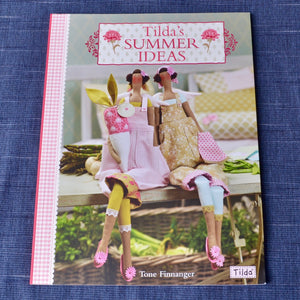 Summer Ideas pattern book for Tilda doll
