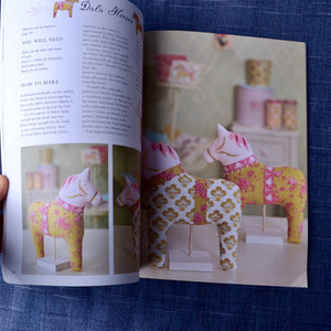 inside Tilda's Summer Ideas project and pattern book