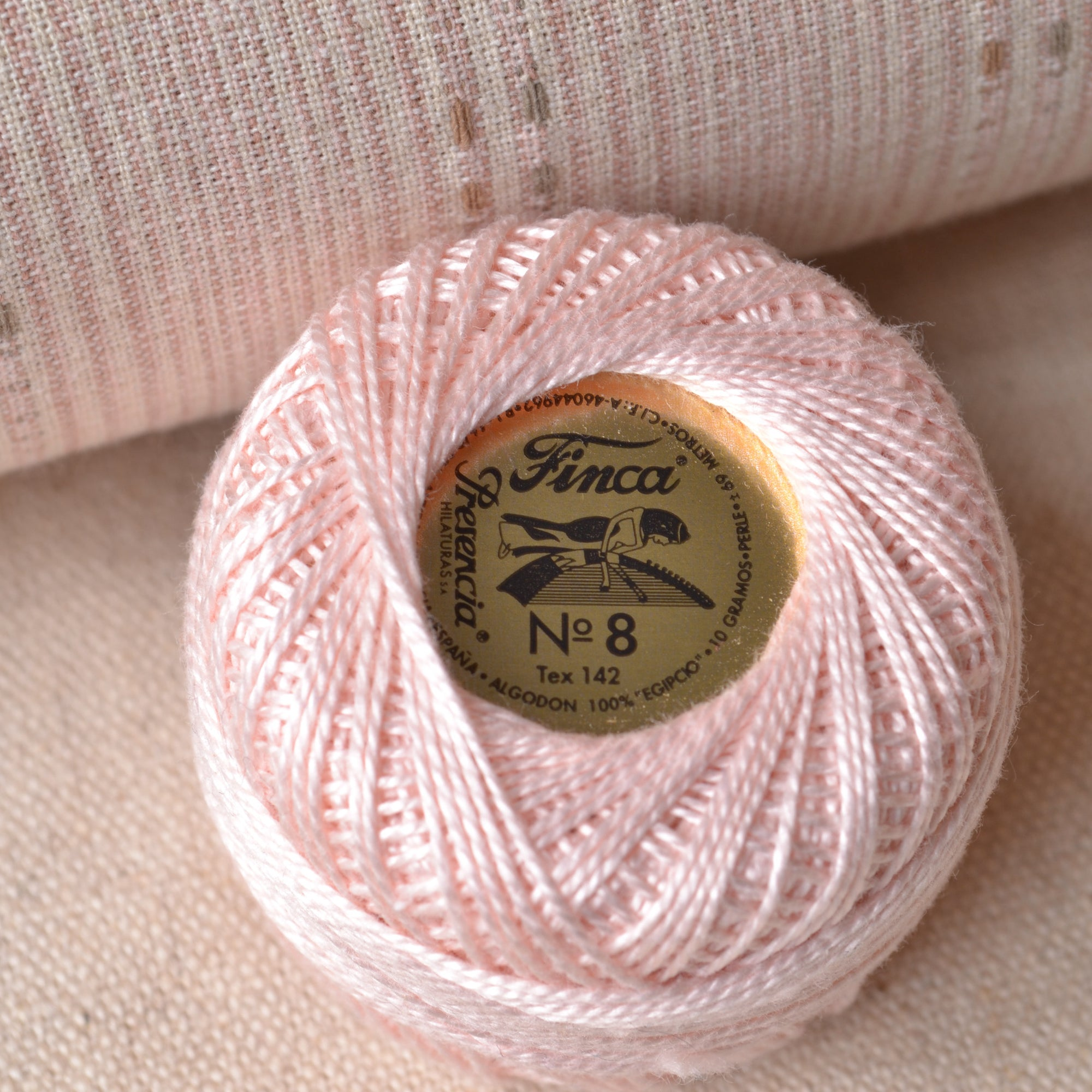 Pale Pink Presencia Perle Cotton Thread