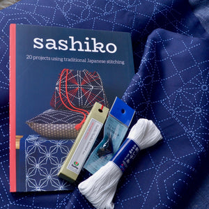Sashiko Kit  with Jill Clay Book