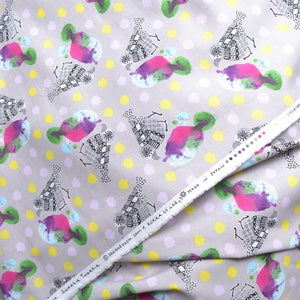 Sweetie Tweetie Fabric by Echino