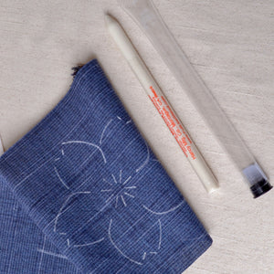 white fabric marking pencil