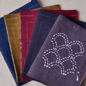 Olympus sashiko coaster kit, five colors