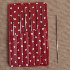 hand sewing needle case