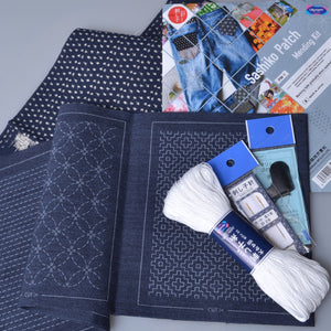 Sashiko Patch Mending Kit