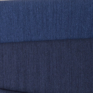 cotton fabric for sashiko stitching, denim blue and navy