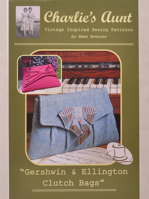 Gershwin & Ellington Clutch Bag Pattern
