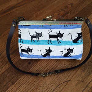 metal sew in style  purse frame Inazuma