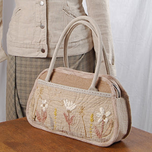 Inazuma linen handles on purse