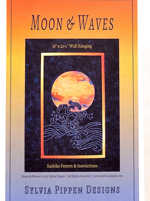 Sylvia Pippen Pattern Moon and Waves