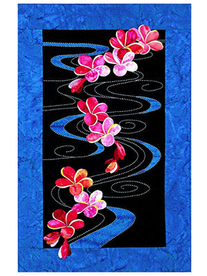 Plumeria Floating on Water Sylvia Pippen