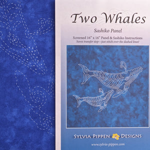 Sashiko Kit Sylvia Pippen Two Whales