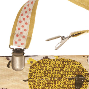 suspender clip alligator clip bag hardware
