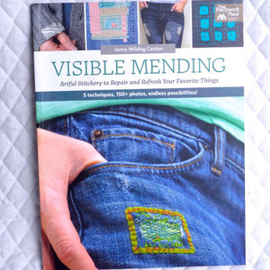 Visible Mending by Jenny Wilding Cardon