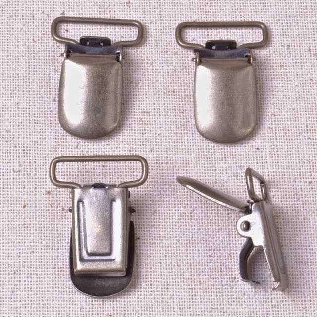 suspender clips soother clip
