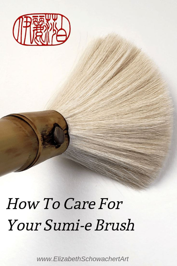 How to Care For Your Sumi-e Paint Brush