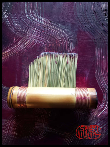 "Cold Wax Fiber ""Flat"" Brush Art Supplies Elizabeth Schowachert Art"