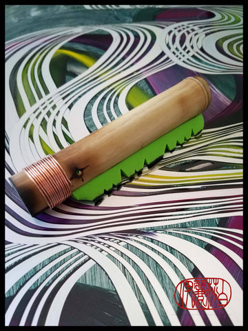 ESA Silicone Blade Mark Making Tool For Encaustic Hot Box - Elizabeth Schowachert Art
