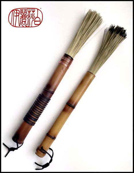 Fiber Paint Brush with Bamboo Handle - Elizabeth Schowachert Art