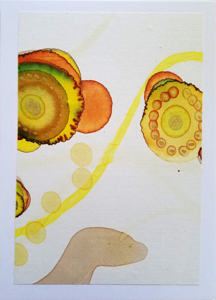 Hand Painted 5X7 Note Cards, Original Art By Elizabeth Schowachert - Elizabeth Schowachert Art