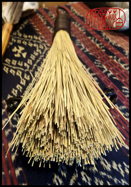 Handmade African Broom Fiber (16 Inches Long Total) Paint Brush - Elizabeth Schowachert Art