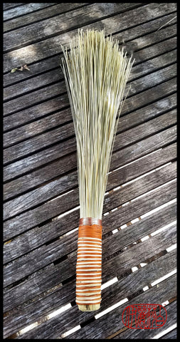 Handmade African Broom Fiber (18 Inches Long Total) Paint Brush - Elizabeth Schowachert Art