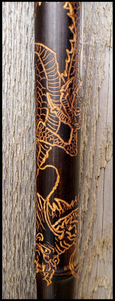 Handmade Dragon Sumi-e Paint Brush - Elizabeth Schowachert Art
