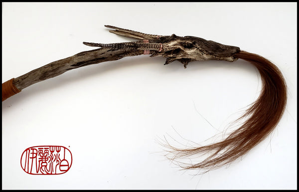 Handmade Horse Hair Dragon Brush - Elizabeth Schowachert Art