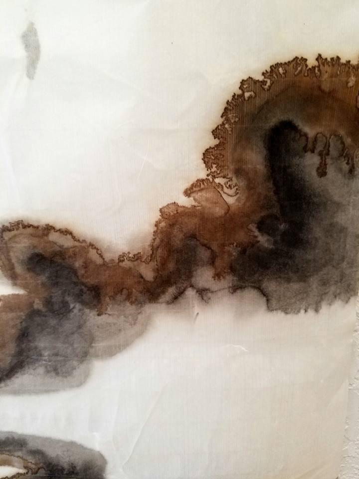 Handmade Scroll Paper White 13.75 X 55 Inch - Elizabeth Schowachert Art