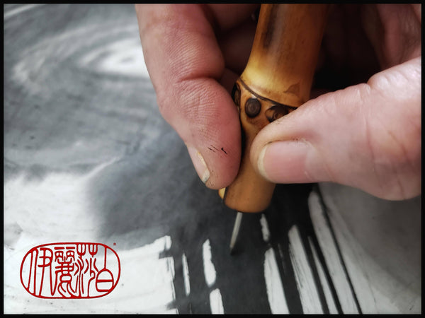 Needle Point Stylus with Bamboo Handle - Elizabeth Schowachert Art