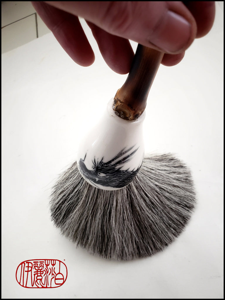"Online ""One on One"" Coaching - How To Use a Sumi-e Style Brush Elizabeth Schowachert Art"