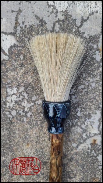 Premium Grey Horsehair Sumi-e Paint Brush Art Supplies Elizabeth Schowachert Art