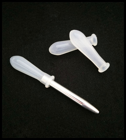 Silicone Replacement Bulb for Metal Pipette 2 inch | Size Large - Elizabeth Schowachert Art