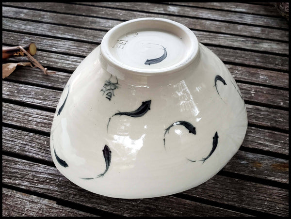 Stoneware Ink Bowl Art Supplies Elizabeth Schowachert Art