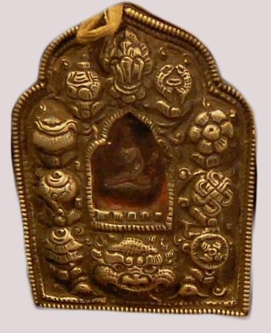 Tibetan Buddhist Amulet & Prayer Gau Ghao Box - Elizabeth Schowachert Art