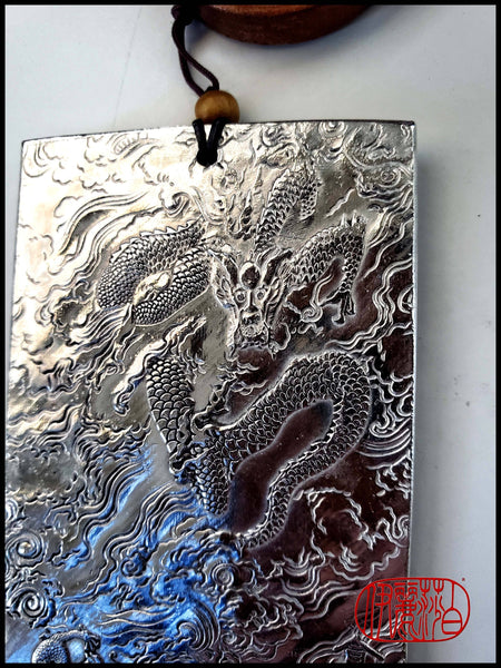 Traditional Chinese Metal Rectangle Paperweights Art Supplies Elizabeth Schowachert Art