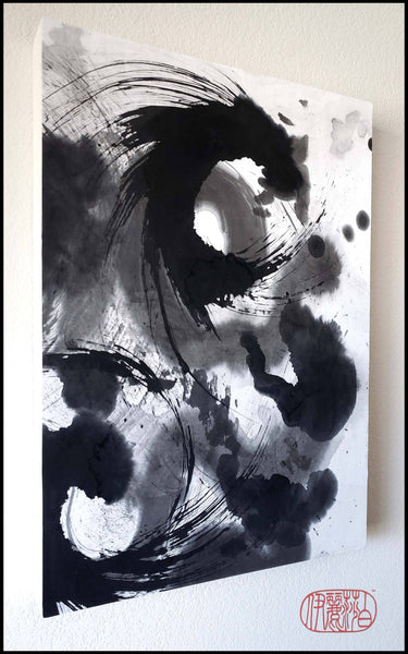 """Wake Up"" Ink on Paper Painting By Elizabeth Schowachert - Elizabeth Schowachert Art"