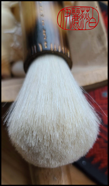 White Goat Hair Sumi-e Paint Brush Art Supplies Elizabeth Schowachert Art