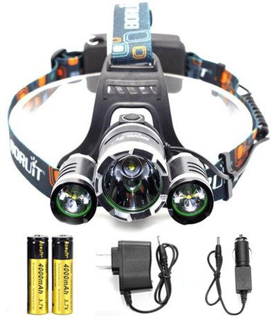 Hunting - Hunter's ULTRA Bright LED Rechargeable Headlamp