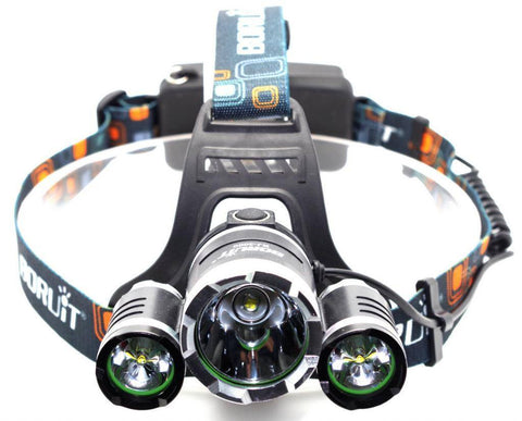 Hunting - ULTRA Bright White CREE Rechargeable LED Headlamp Flashlight