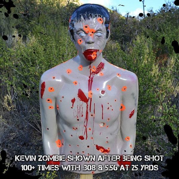 "ZOMBIE TARGET ""KEVIN"" - 3D ZOMBIE TARGET PACKAGE"