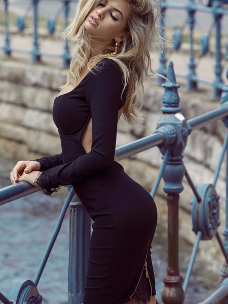 Allegra Dress in Black