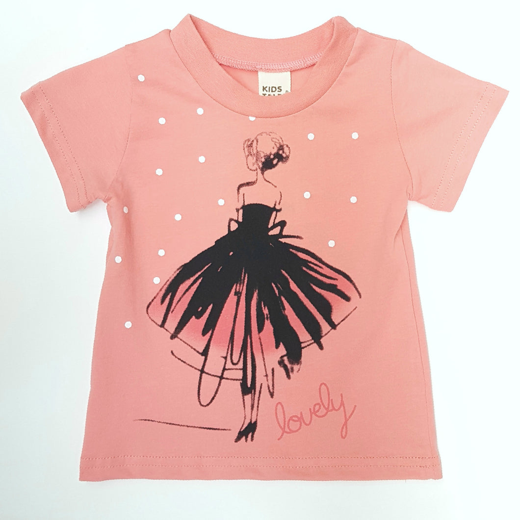 Ballerina T-Shirt - top - Mozayn fashion boys and girls